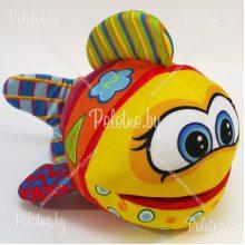 Мягкая игрушка Рыбка-развивашка