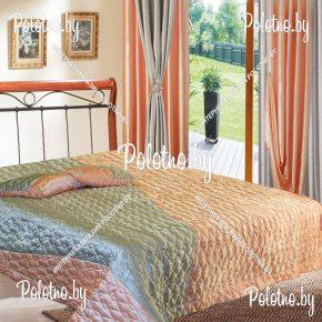 Комплект готовых штор в спальню и гостиную с порывалом трехсторонним Габриэлла