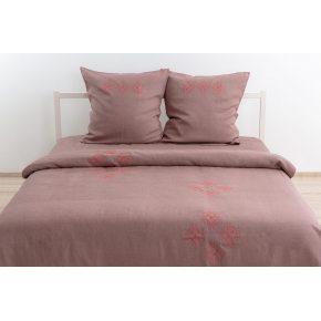 Льняное постельное бельё Престиж с вышивкой
