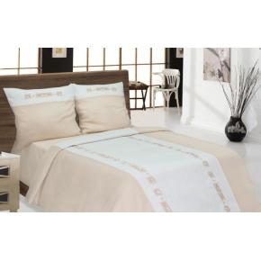 Льняное постельное белье Тюльпан