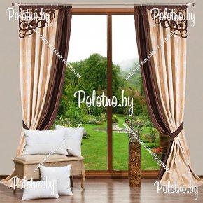 Комплект готовых портьер в спальню и гостиную Кардинал — 2.5