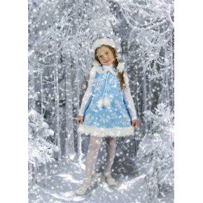 Костюм для девочки Снежинка