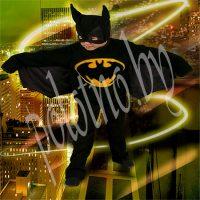 Костюм маскарадный детский Бэтмен (летучая мышь) рост 122