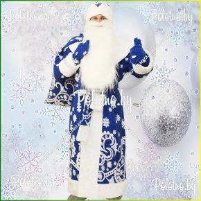 Купите костюм Деда Мороза бордовый новогодний маскарадный — карнавальные костюмы