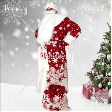 Костюм маскарадный новогодний Дед Мороз