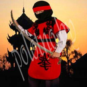 Детский маскарадный костюм самурая на рост 140