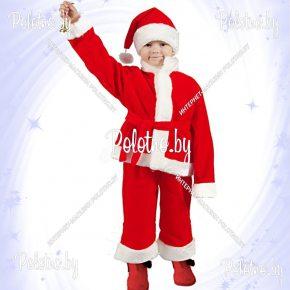 Купите костюм Санта  красный новогодний маскарадный — карнавальные костюмы