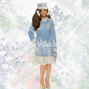 Купите костюм Снегурочки короткий новогодний маскарадный — карнавальные костюмы