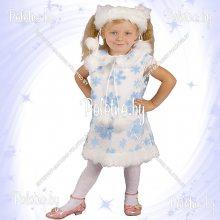 Костюм маскарадный детский Снежинка белая