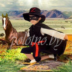 Детский маскарадный костюм Зорро