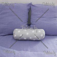 Подушка валик Звездочка