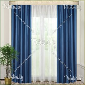 Комплект готовых штор в спальню и гостиную Оптима Люкс — 2.5