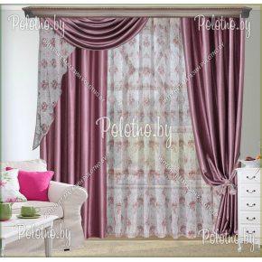 Комплект готовых штор в спальню и гостиную Овация — 2.6
