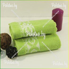 Махровое банное полотенце Янтарь 50х90