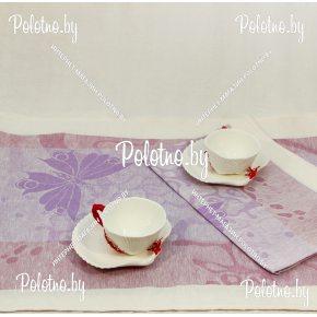 Льняное кухонное полотенце Наслаждение