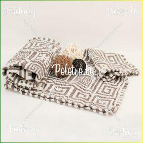 Банное полотенце льняное Греческое арт.17С125