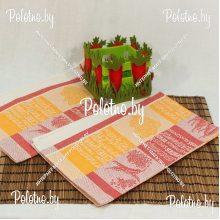 Полотенце кухонное льняное Перец-лавр