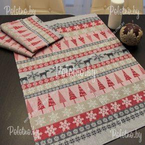 Льняное кухонное полотенце с крючком для вешалки