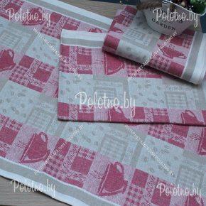 Льняное полотенце для кухни Кофе арт. 17с317