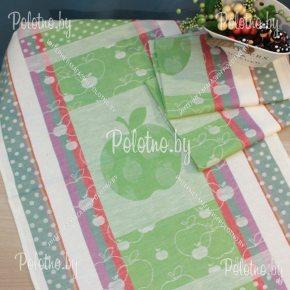 Льняное полотенце для кухни Джем-яблоко