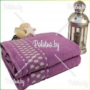 Банное махровое полотенце Арлекино 50х90/70х130