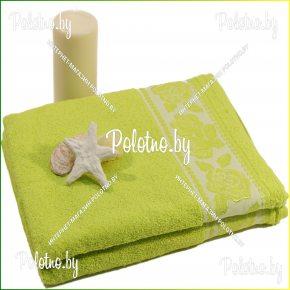 Махровое банное полотенце Презент 50х90