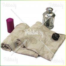 Полотенце льняное Ракушки