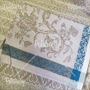Льняной комплект столовый Серенада  с салфетками арт. 17c13