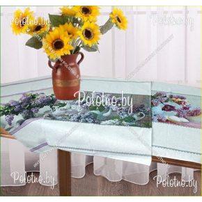 Набор льняных кухонных полотенец Сирень из 3 шт