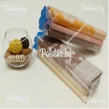 Набор полотенец кухонный льняной Бабье лето в тубусе