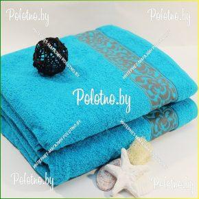 Банное махровое полотенце Жасмин 70х130