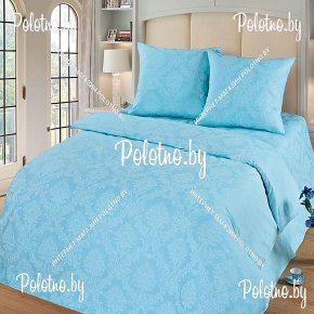 Купите комплект «Аквамарин» поплин евро — поплиновое постельное белье
