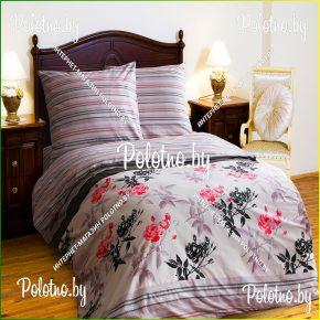 Купите комплект «Беатрис» поплин полуторный  — поплиновое постельное белье