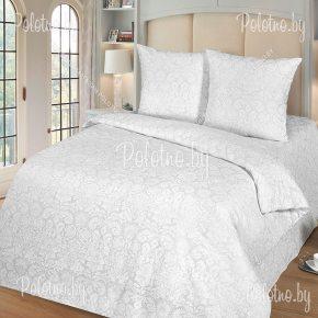Полуторный комплект постельного белья Бриллиант поплин