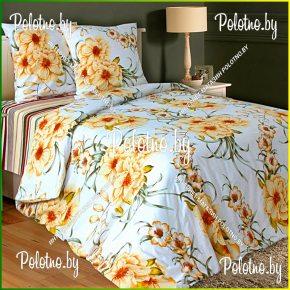 Купите комплект «Лилея» поплин двуспальный — поплиновое постельное белье