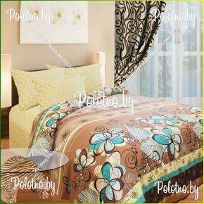Купите комплект «Серпантин» поплин двуспальный — поплиновое постельное белье
