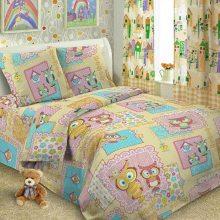 Детское постельное бельё Совы