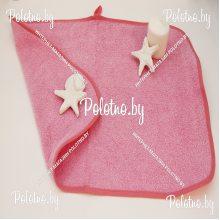 Салфетка махровая 40х60 см розовая