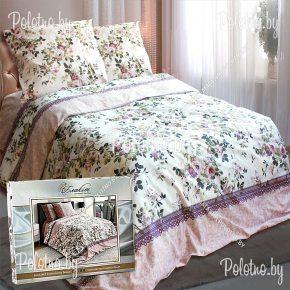 Купите комплект «Амелия» сатин полуторный  70х70 — сатиновое постельное белье
