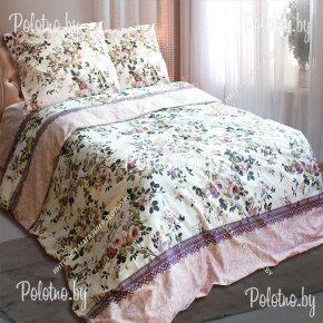 Бязевое постельное белье Амелия полуторного размера