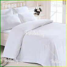 Комплект двуспальный Белый бязь 70х70