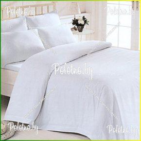 Купите комплект «Белый» бязь двуспальный — бязевое постельное белье