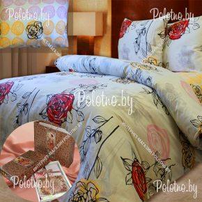 Купите комплект «Донна роза» сатин двуспальный — сатиновое постельное белье