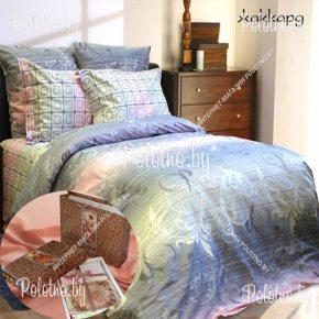 Купите комплект «Жаккард» сатин семейный дуэт — сатиновое постельное белье