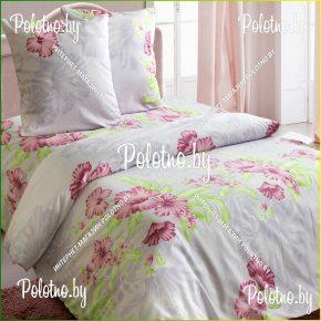 Комплект постельного белья Гибискус из белорусского сатина