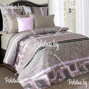 Купите комплект «Гротеск» сатин евро 50х70 — сатиновое постельное белье