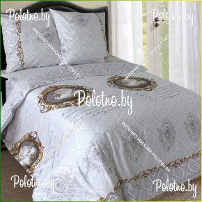 Купите комплект «Камея» сатин евро 50х70 — сатиновое постельное белье