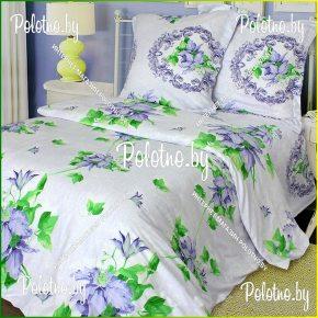 Купите комплект Клемaнтина сатин двуспальный 70х70 — сатиновое постельное белье