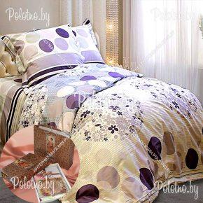 Купите комплект «Контраст» сатин двуспальный 50х70 — сатиновое постельное белье