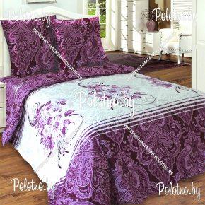 Купите комплект «Маркиза» сатин евро 50х70 — сатиновое постельное белье
